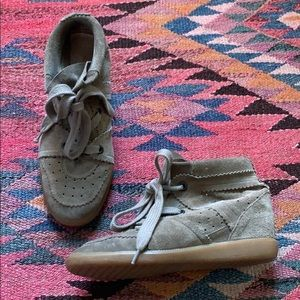 Isabel Marant Bobby Wedge Sneaker size 39